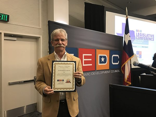 CDC Receives TEDC 2018 Economic Excellence Recognition Award