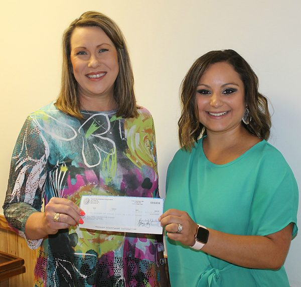Mid Coast Construction Academy Receives CDC Check