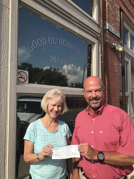Bahnhof Café Receives CDC Check