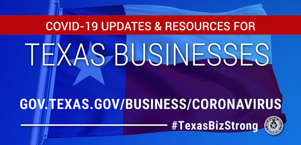 Graphic: COVID-19 Updates and Resources for Texas Businesses