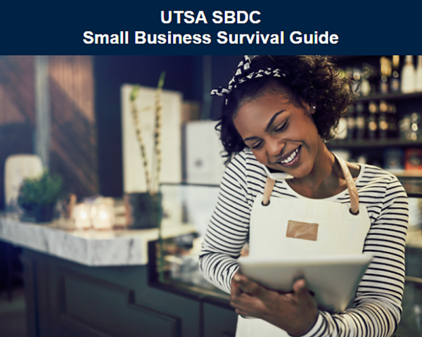Graphic for UTSA SBDC Small Business Survival Guide