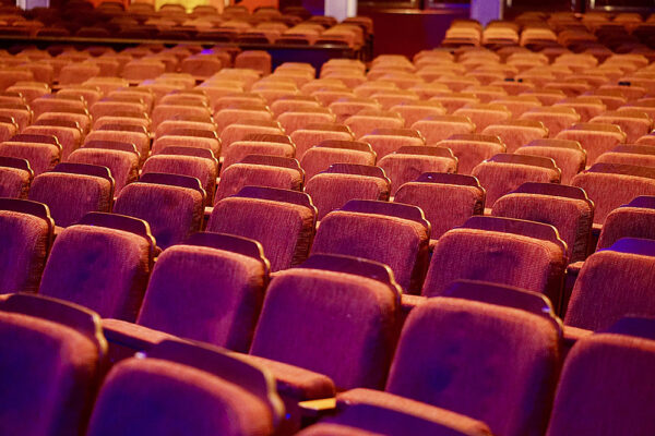 Image of empty theater