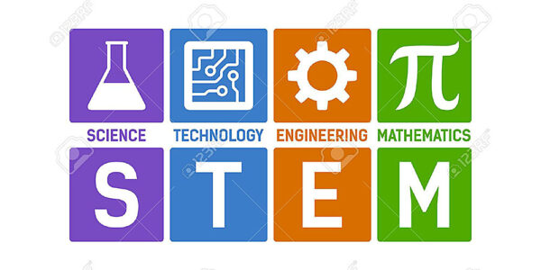 Graphic for Science, Technology, Engineering & Mathematics (STEM)