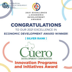 IEDC 2021 Excellence in Innovation Programs and Initiatives Silver Award